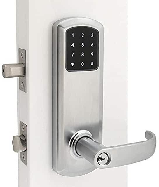 Amazon Com Keyless Front Door In 2020 Door Locks Doors Double Lock