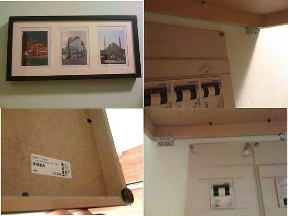 Un cuadro para tapar los contadores de la luz tapas - Tapas decorativas para contadores luz ...