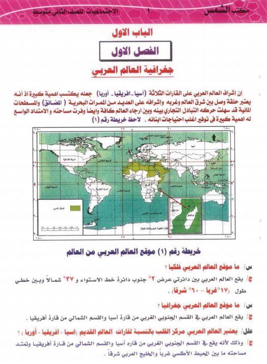 ملزمة اجتماعيات ثاني متوسط 2021 Pdf احدث نسخة الاستاذ العراقي In 2021 Diagram Books