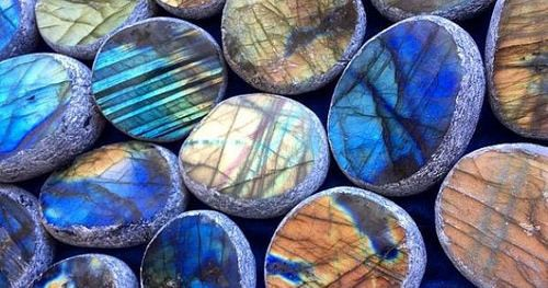 Labradorite Seer Stone for New Moon magic new beginnings and intention setting by Ginny