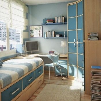 blue boys room #blue