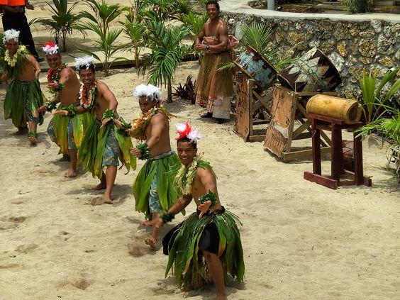 Tongan Dance | More traditional Tongan dancing ... February 2009