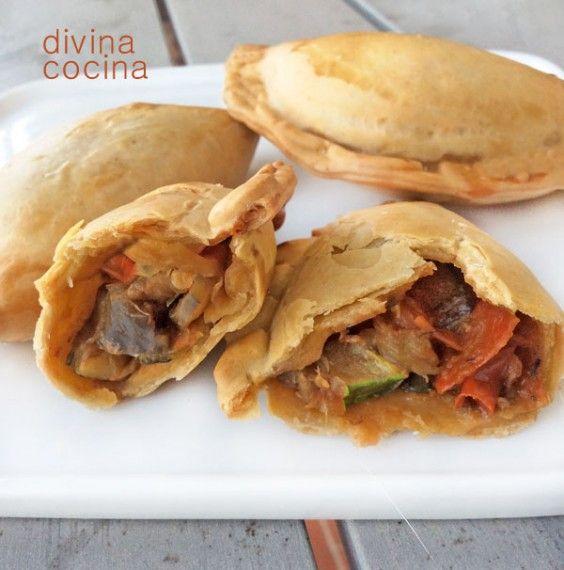 Empanadilla vegetariana < Divina Cocina