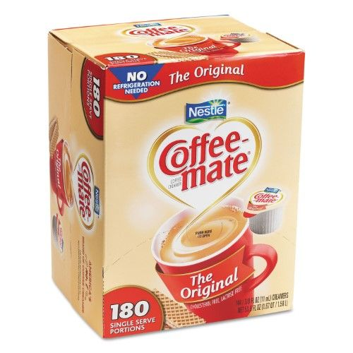 Nestle R Coffee Mate R Liquid Creamer Singles Original 0 38 Oz