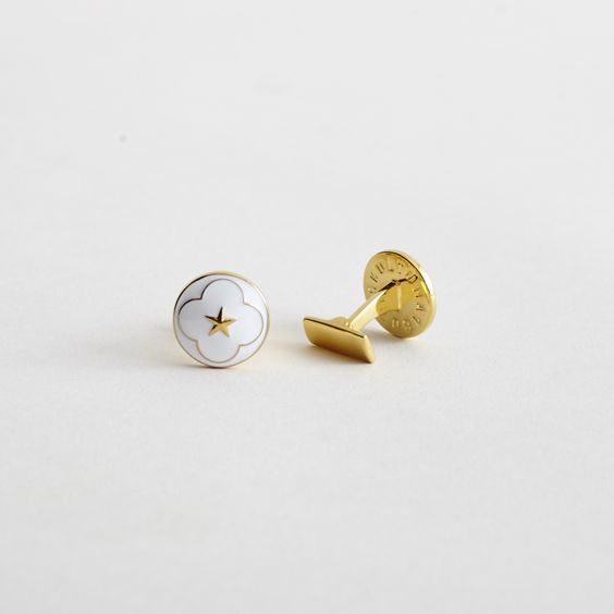 Skultuna Cuff Links - Polar Star