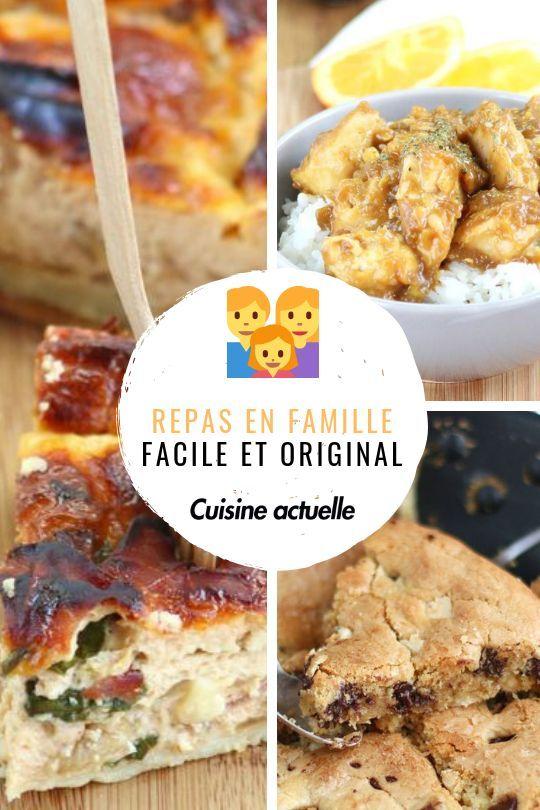 Idée Repas Famille Anniversaire Épinglé sur Recettes de repas en famille