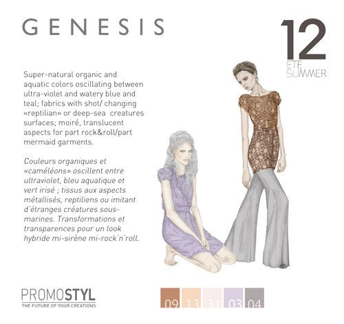 Promostyl : Womenswear Trends Summer 2012 - Tendances Femme Eté 2012