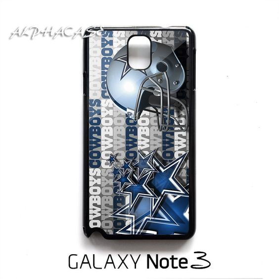 Dallas Cowboys Helmet Samsung Galaxy Note 3 Case Cover Black ...