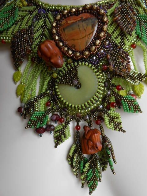 From The Heart Of The Forest OOAK Bead от SharonEdelmanforEPEC