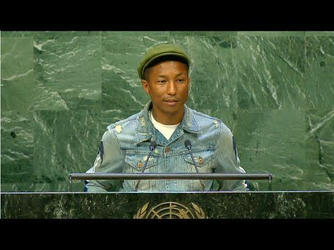 Pharrell Williams - International Day of Happiness - YouTube