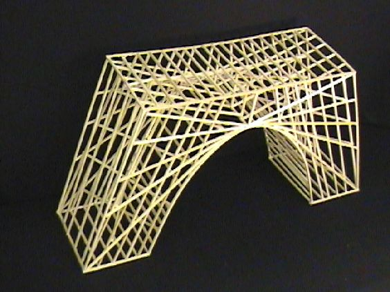 Balsa wood bridges by ceres software corporation art fun for Bridge design