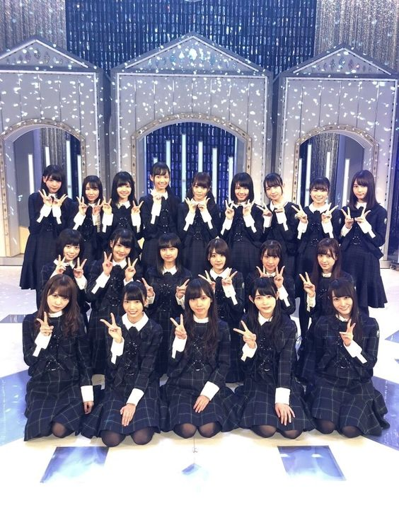 欅坂46の集合写真47