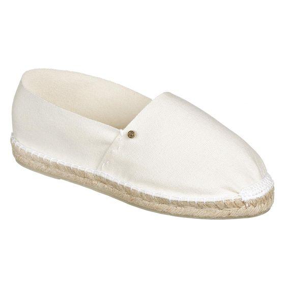 JOEnJOYCE Bilbao Espadrilles - weiß ist die perfekte Farbe für den Sommer. Espadrilles sind leicht und luftig - tolle Schuhe für warme Tage https://www.schlappenladen.de/JOE-n-JOYCE-Bilbao, Schuhe, Schlappen #schuhe #schlappen #espadrilles