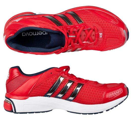 Kate Red Adidas Supernova Glide Trainers Olympics Product Shot