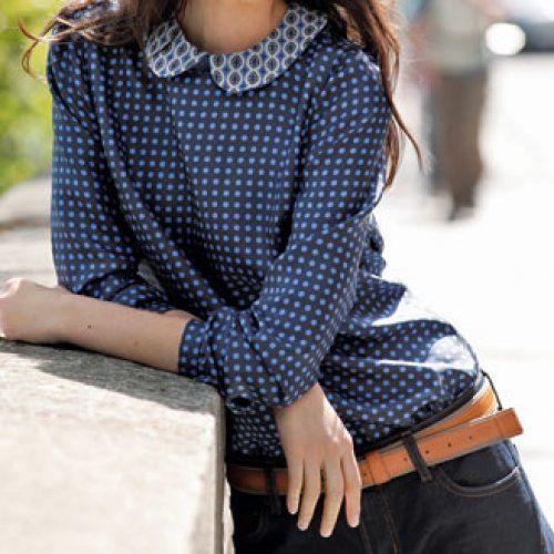 Ma chemise 3 looks - Magazine Avantages (tuto + patron)
