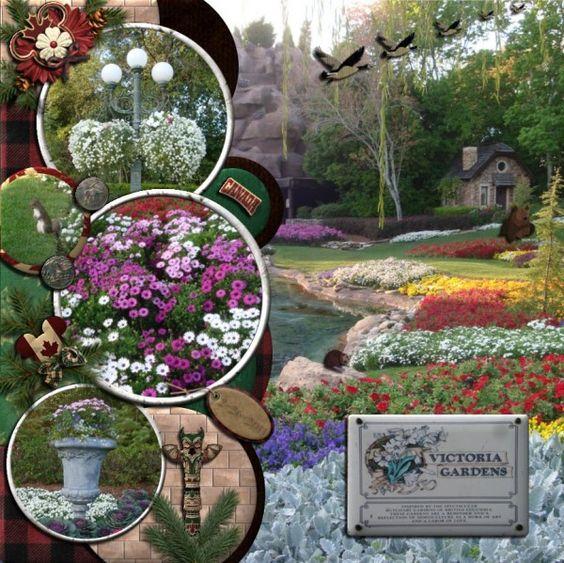 Victoria Gardens - MouseScrappers.com