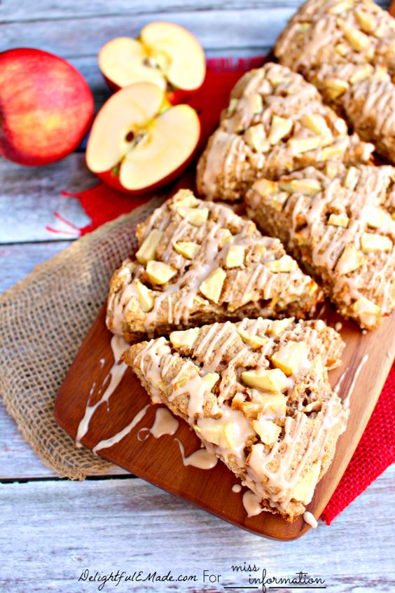 flour cinnamon scones scones breakfast apple cinnamon spices cinnamon ...