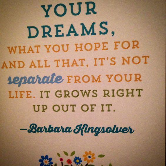 Dream big!!