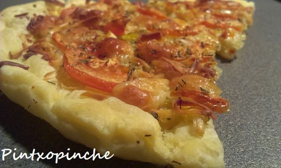 Pizza hojaldrada sin gluten | Cocinar en casa es facilisimo.com