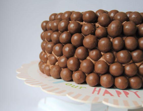 Tarta de chocolate con Maltesers/ Maltesers cake!