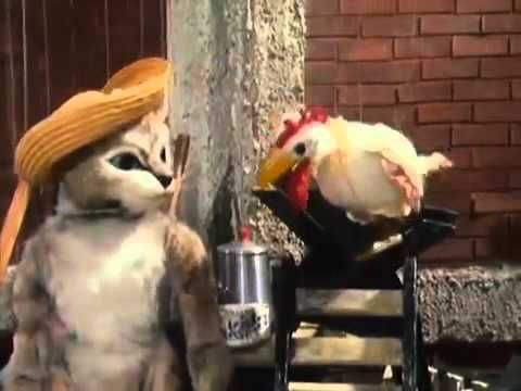Katze mit Hut - #1 Backpflaumenallee 17 | Augsburger Puppenkiste