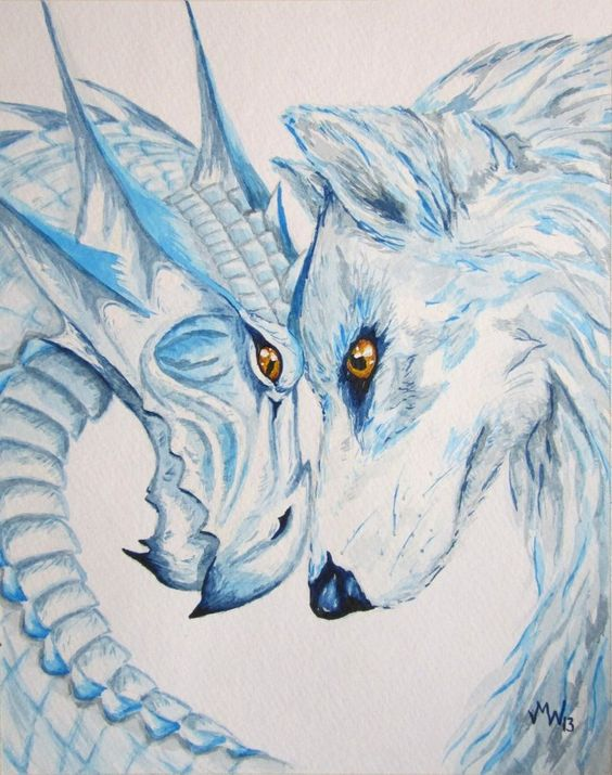 Wolf dragon google zoeken furry 39 s pinterest wolves for Dragon and wolf tattoo