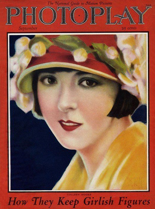 Vintage Film /& Theatre Poster 1920/'s Photoplay Cover Colleen Moore