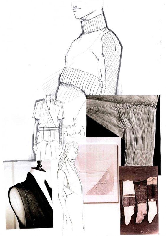 Fashion Sketchbook - fashion design development; fashion portfolio layout; fashion illustration // Mirjam Maeots