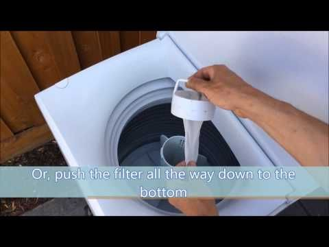 If Your Washing Machine Won T Drain Shakes Violently During Its Cycle Or Stops During The Cycle You May Have A Clogged Drai Washing Machine Washing Cleaning
