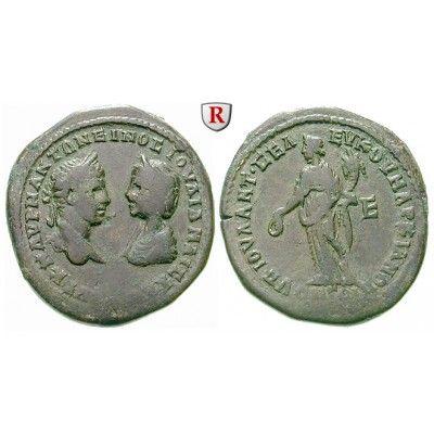 Römische Provinzialprägungen, Thrakien-Donaugebiet, Markianopolis, Elagabal, 5 Assaria 220-221, f.ss: Thrakien-Donaugebiet,… #coins
