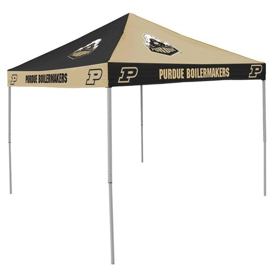 NCAA Purdue Boilermakers Chckrbrd Tent