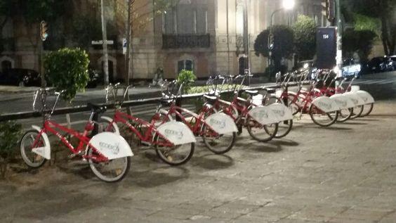 Eco - bicis en la Col. ROMA