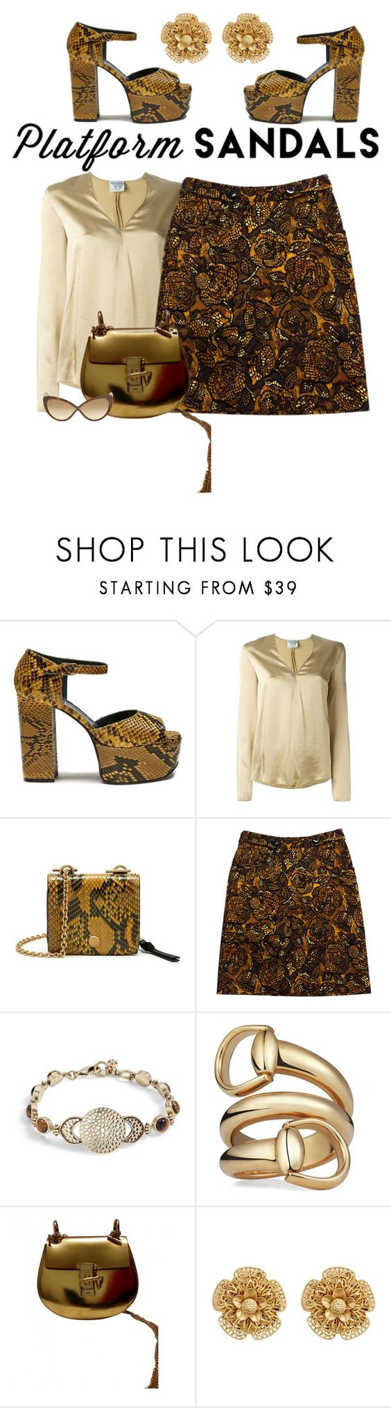 """Untitled #5086"" by lovetodrinktea ❤ liked on Polyvore featuring Mulberry, Forte Forte, Etcetera, Lucky Brand, Gucci, Miriam Haskell and Tom Ford"