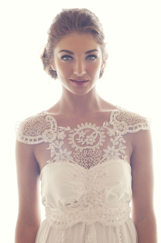 classy lace - love this old fashioned lace - not necessarily this dress but wanted to show you the lace
