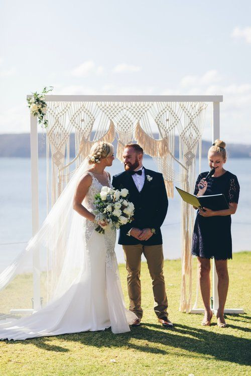 Beachside Luxe Bridal Arch For A Beautiful Wedding Ceremony At Palm Beach Nsw Wedding Beach Ceremony Palm Beach Wedding Wedding Ceremony Arch