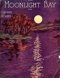 """Moonlight Bay""  Cover, sheet music, 1912"