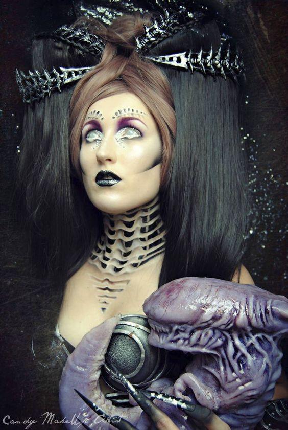 GALERIE: Děsivý make-up: Tyhle zrůdy byste potkat nechtěli! | FOTO 2 | Pro ženy | Blesk.cz