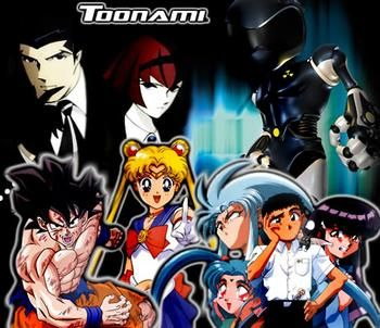 Image result for Old school Toonami