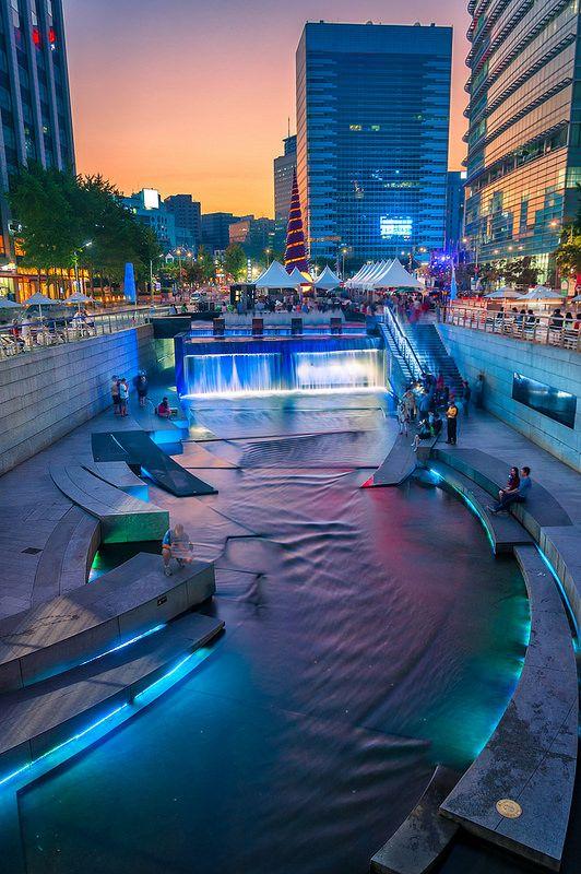 Seúl, Corea del Sur. Visitar bellos lugares, donde se pueden hacer bellos recuerdos.