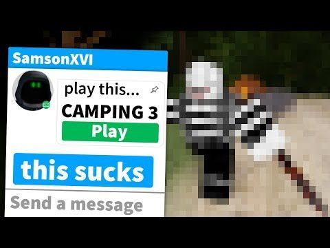 Roblox Camping 3 Youtube Roblox Camping Games Roblox