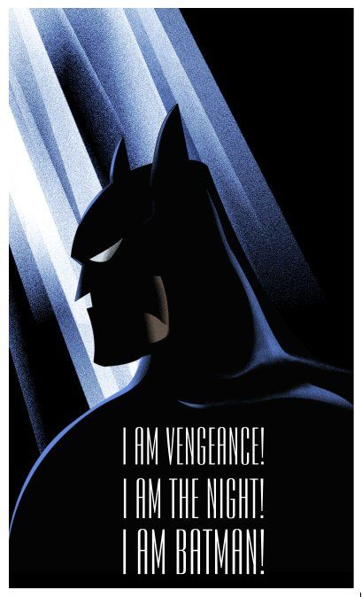 Batman Tas On Twitter Batman The Animated Series Poster By Rodolforever Batman Poster Batman Batman The Animated Series