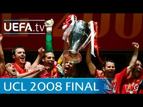 Manchester United V Chelsea 2008 Uefa Champions League Final Highlights