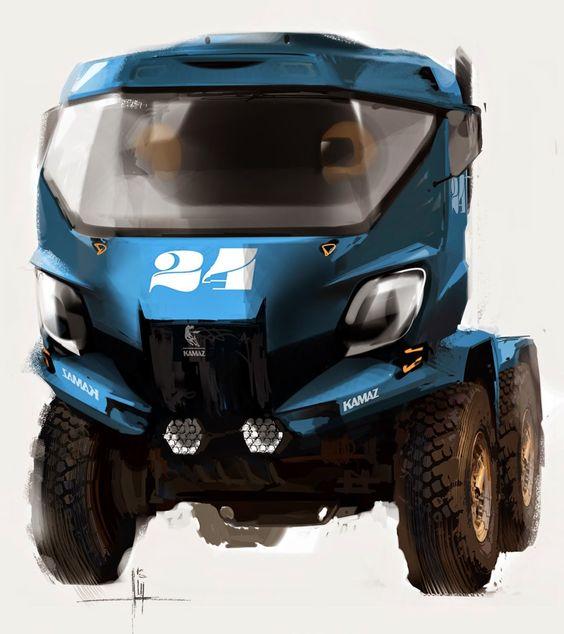 Kamaz Dakar truck concept