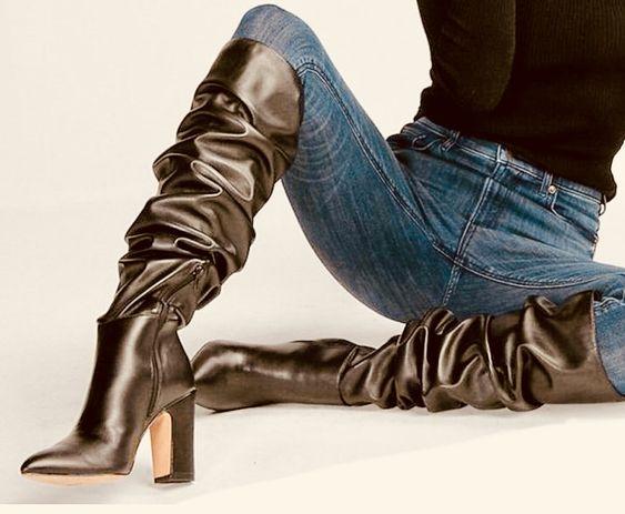 Surprisingly Cute High Heels Boots