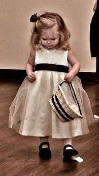 Ballerina Toddler Flower Girl Satin Dress by gownsbygaetana, $66.99
