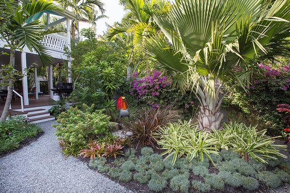 Key West Backyard Ideas :  design, small garden, pocket garden, landscape design, Key West