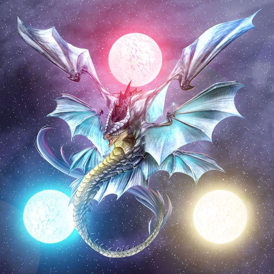 # Dragon # 3 moon #3moonDragon