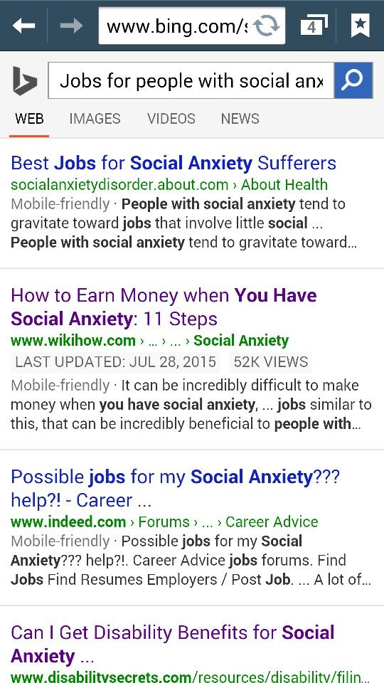 Jobs for People With Social Anxiety Website link is in the - indeed find resumes