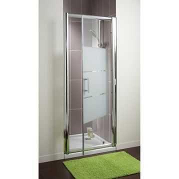 Porte de douche pivotante sensea optima 2 verre for Portes de douche leroy merlin