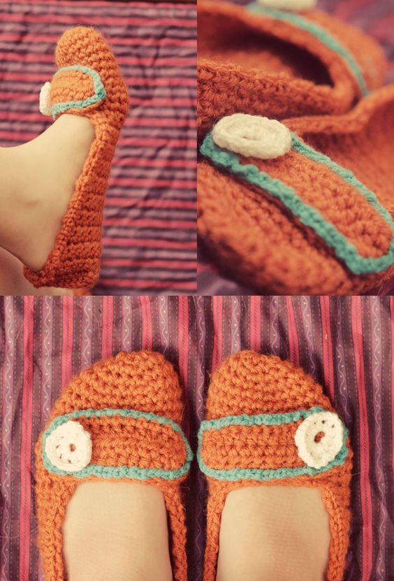 Crocheted Mary Jane Pattern: two cute!